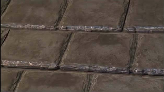recycled construction materials - roofing
