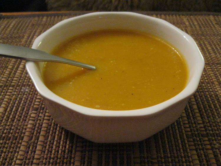 Butternut squash soup receipes