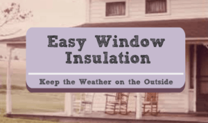 Insulation of windows