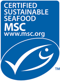 Certified sustainable seafood label